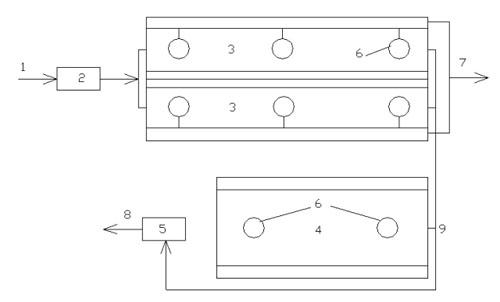 4- аэробный стабилизатор;